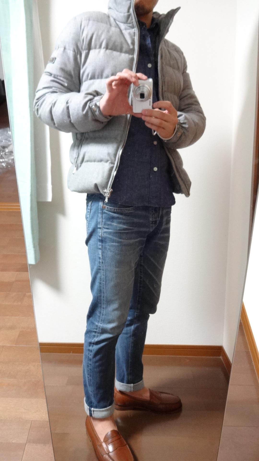 春夏ではトレンドだった?ローファーも真冬にもなれば、以前の様にショートソックスで履くのも、すこし気が引けます。